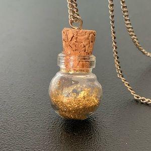 Fairy Dust in a Bottle Necklace